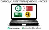CLASES Y TRABAJOS EXCEL - ACCES - foto
