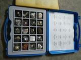 Antigua coleccion de minerales - foto