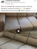 limpieza de sofás, alfombras y tapizados - foto