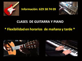 CLASES DE GUITARRA Y PIANO  ONLINE - foto