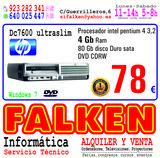 HP DC7600 4Gb ram 80Gb HD ocasión - foto