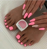 Manicure y pedicure semipermanente - foto