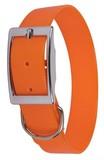 Collar perro biothane-naranja- .-3,7 cm. - foto