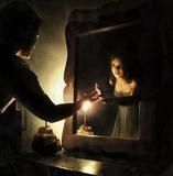 Amarres con espejo - foto