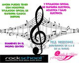 CLASES GUITARRA TOLEDOON LINE/PRESENCIAL - foto