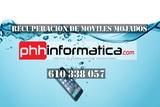 Recuperación de móviles mojados - foto