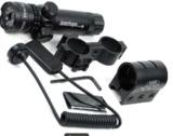 laser verde arma larga - foto