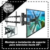Instalación de Televisión hasta 55 pulg. - foto