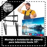 Instalación de Televisión hasta 75 pulg. - foto