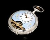 Reloj hebdomas plata funcionando-VENDIDO - foto