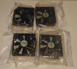 4 ventiladores 80 mm ordenador nuevos - foto