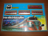 Tren electrico Pequetren Referencia 508 - foto