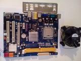 Asrock g31m-gs+procesador+cooler - foto