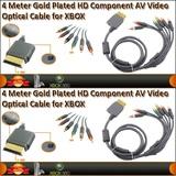 Xbox 360 cable video av componentes 4 m. - foto