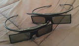 Dos gafas 3D electronicas Smart TV - foto