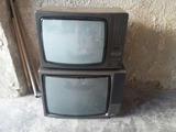 vendo dos televisores antiguos a color - foto