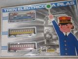 Tren eléctrico a pilas Pequetren. - foto