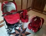 Conjunto tres  piezas bebé  confort - foto