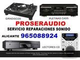 Reparacion tocadiscos pletinas c.d. - foto