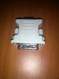 adaptador DVI a VGA - foto