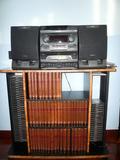 CADENA DE MÚSICA con CDs originales de l - foto