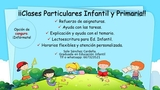CLASES PARTICULARES PRIMARIA E INFANTIL - foto