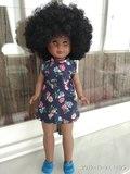 Muñeca kika afro. Nueva, nancy - foto