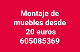 Montaje de muebles 20 euros - foto