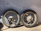 Ruedas completas Bultaco Sherpa 74 - foto