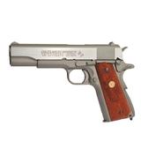Pistola colt m1911 serie 70 co2 plata/ma - foto