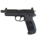 Pistola fn fnx-45 tactical gas negra - foto