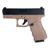 Pistola glk 23 gas fibra p23 tan - foto