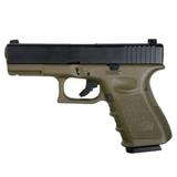 Pistola glk 23 gas fibra kp23 verde - foto