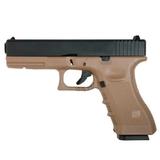 Pistola glk 27 kp-17-ms tan negra - foto