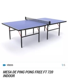 MESA PING-PONG ARTENGO FT 720 - foto