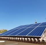 Placas fotovoltaicas conexión a red - foto