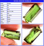 Turmalina verde neon de tanzania 2.30cts - foto