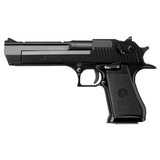 Pistola desert eagle gas negra - foto