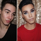 maquillaje transformaciones para chicos - foto