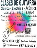 CLASES DE GUITARRA UKELELE BAJO - ONLINE - foto