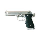 Pistola marui m92fs gas negro/plata - foto