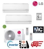 2X1 LG MU2R15 + PC09SQ + PC012SQ WIFI - foto