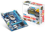 Placa Base Gigabyte GA-H61M-DS2 Socket 1 - foto