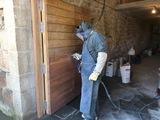 Limpieza y restauraciÓn con arenadora - foto