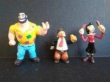 Lote 3 figuras de Popeye - foto