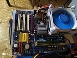 Combo placa +procesador+ ram - foto