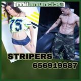 Striper chico y chica despedidas fiestas - foto