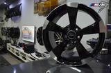 R424 JUEGO LLANTAS 18 AUDI RS3 BLACK - foto