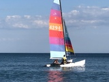 VENDO HOBIE CAT 18 PERFECTO - foto
