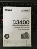 Manual usuario NIKON 3400 (Español) - foto